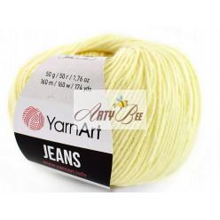 86 Light Yellow YarnArt Jeans