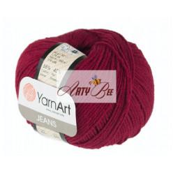66 Red Vine YarnArt Jeans