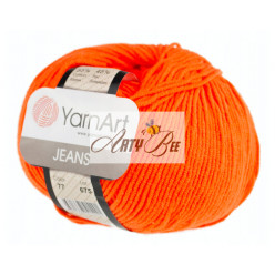 77 Orange YarnArt Jeans