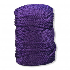 6mm Poly Braided Cord Purple