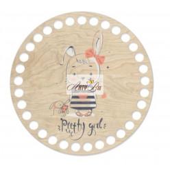 """Pretty Girl"" Wooden Base"
