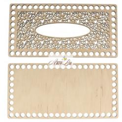 """Tissue Box"" Wooden Base"