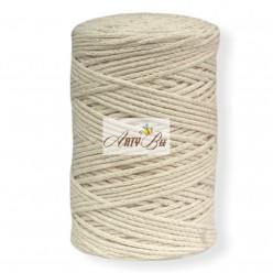 Ecru 2mm Braided Cotton...