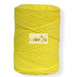 Yellow 2mm Braided Cotton...