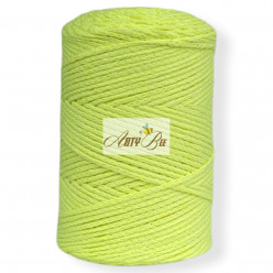Lime 2mm Braided Cotton...