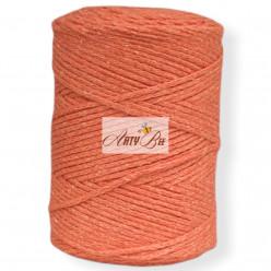Orange 2mm Braided Cotton...