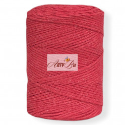 Red 2mm Braided Cotton...
