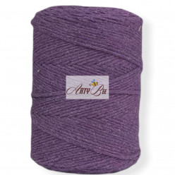 Purple 2mm Braided Cotton...