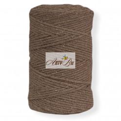 Brown 2mm Braided Cotton...