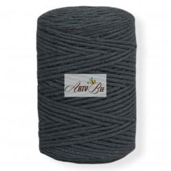 Black 2mm Braided Cotton...