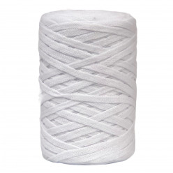 White 6-7mm Chunky Ribbon...
