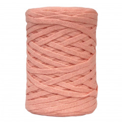 Peach 6-7mm Chunky Ribbon...