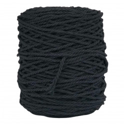 Black 3PLY 4mm Twisted...