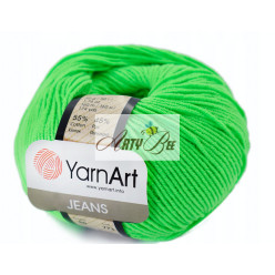 60 Lime YarnArt Jeans