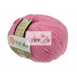 20 Pink  YarnArt Jeans