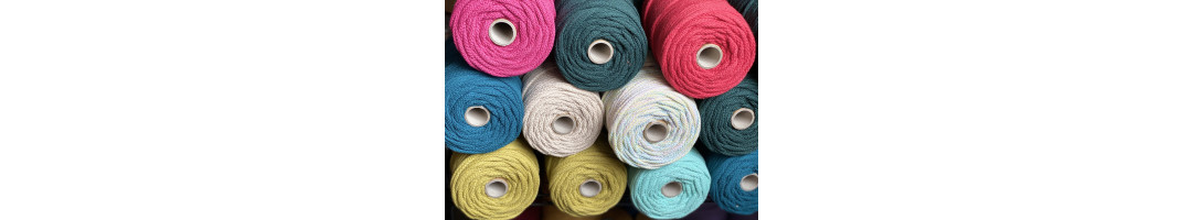 5mm Braided Cotton Cord