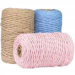 3mm Single Twisted Cotton Cord