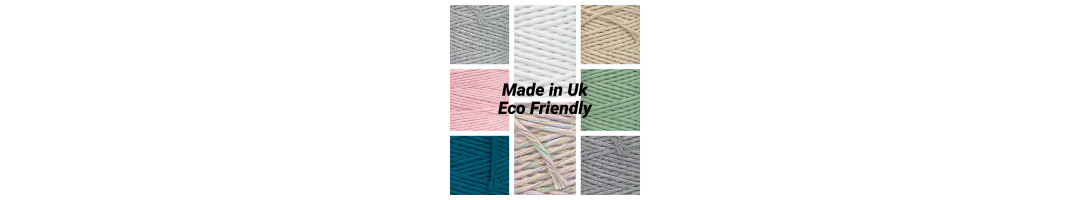 1.5-2mm Single Twisted Cotton Cord Made in Uk